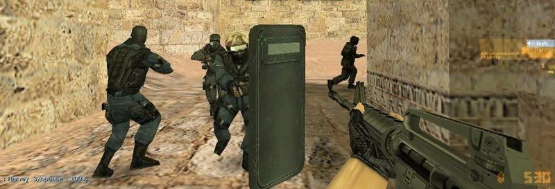 Оружия в CS 1.6