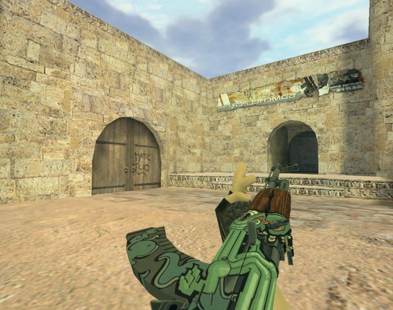 Модель «АК 47 Огненный змей» для Cs 1.6