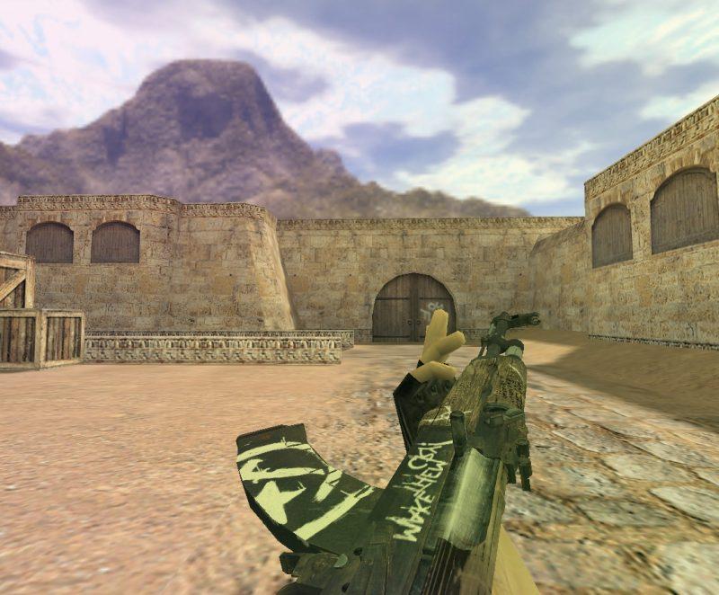 Модель «АК 47 Пустынный повстанец» для Cs 1.6