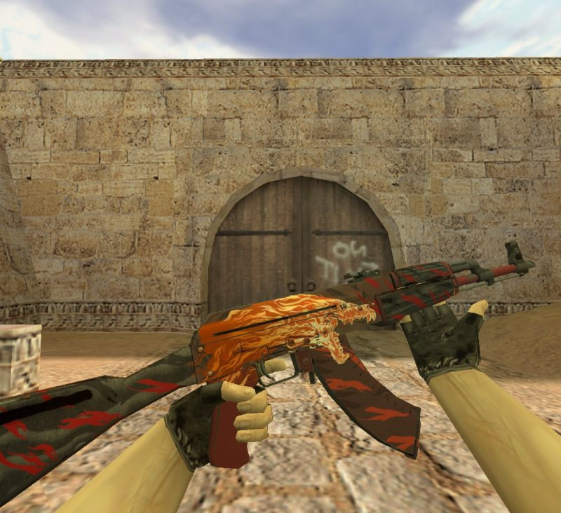 Модель «АК 47 Вой» для Cs 1.6